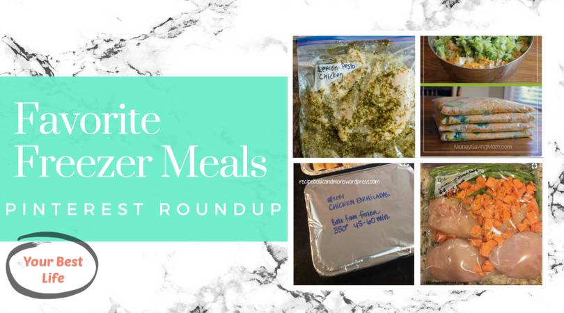 Favorite Freezer meals from around the web