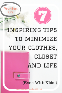minimize life even with kids
