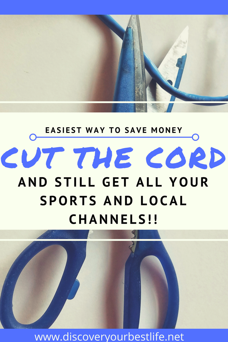 Saving Money Hack: Cut the Cord but Keep the T.V. (Including Live Shows and Sports)