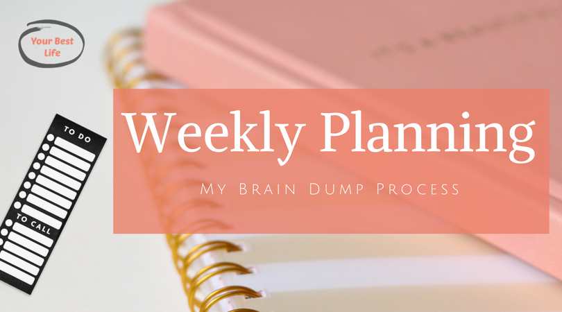 Weekly plan: How to keep your sanity and still get all the things done