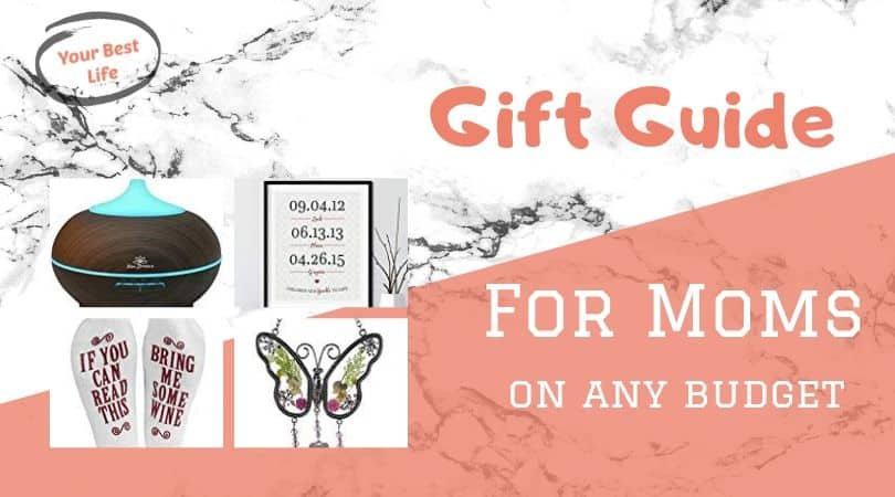 gifts for her on any budget, gift guide for moms