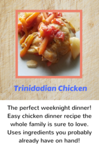 The perfect weeknight dinner. Easy chicken dinner recipe the whole family is sure to love.