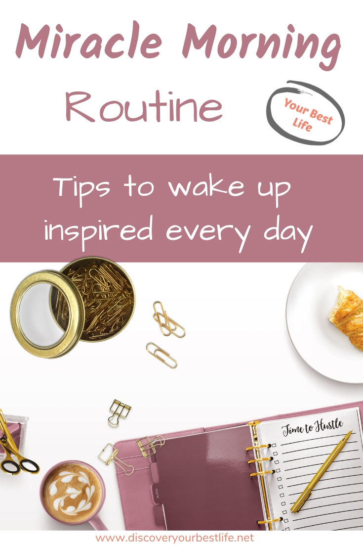 start your day right with this modified Miracle Morning Routine for moms, from Hal Elrod's amazing morning system