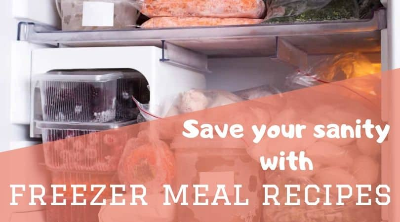 freezer meal recipes featured image