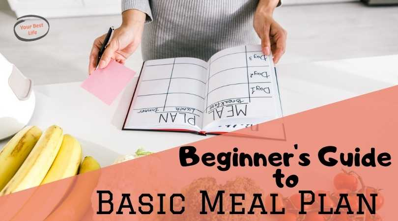 Beginners guide to creating your basic meal plan (+top tips for success)