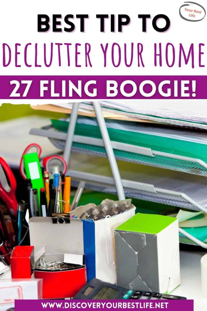 Are you struggling to declutter your home? This is my favorite tip to clear the mess - one day at a time. Follow FlyLady's advice to make it fun and you will get it done! Check it out now!
